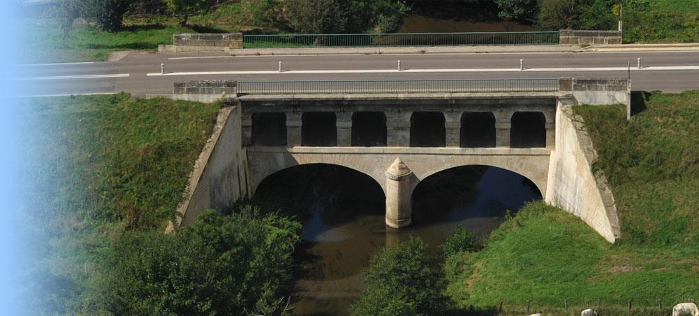 Le pont de Pont de Chevigny